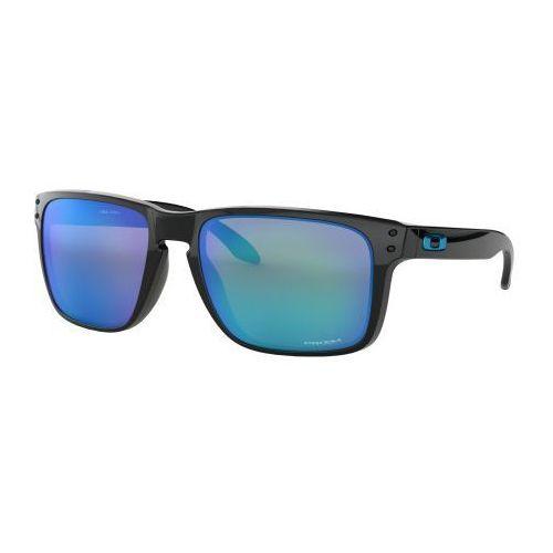 Okulary Oakley Holbrook XL Polished Black Prizm Sapphire Iridium OO9417-0359, kolor czarny