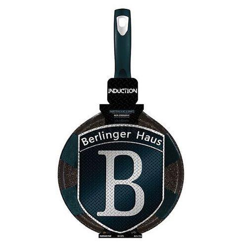 Berlinger haus Patelnia granitowa do naleśników 25cm berlingerhaus black silver bh-1849
