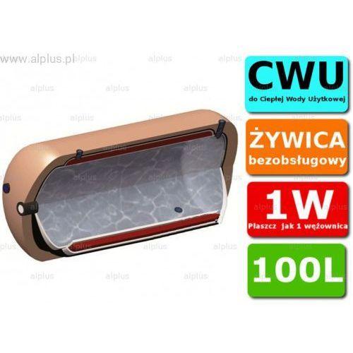 Ermet 100l poziomy dwupłaszczowy bojler do cwu - podgrzewacz wymiennik bezobsługowy - wysyłka gratis