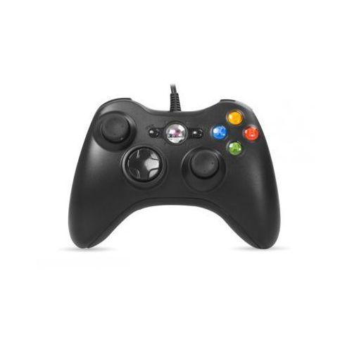 Gamepad kontroler RAMPAGE SG-R360 USB do XBOX360 Przewodowy 2,2m Black (8680096039287)
