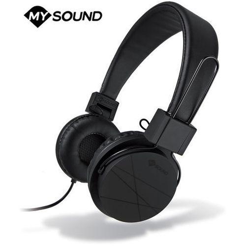 Słuchawki z mikrofonem Meliconi Speak Street Czarne (497388BA) Darmowy odbiór w 21 miastach!