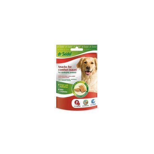 Dr seidel smakołyki dla psa na spokojną podróż 90g marki Dermapharm