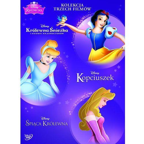 Disney Księżniczka. Pakiet (3 DVD) (Kopciuszek, Śpiąca Królewna, Królewna Śnieżka i siedmiu krasnoludków), kup u jednego z partnerów