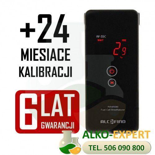 ✭✭✭ alkomat elektrochemiczny  af-35c + gwarancja 6 lat marki Alcofind