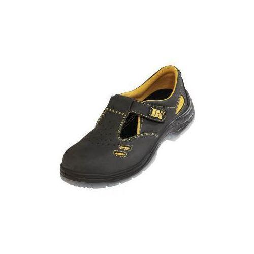 Sandały ochronne ze stalowym podnoskiem black knight s1 marki Cerva