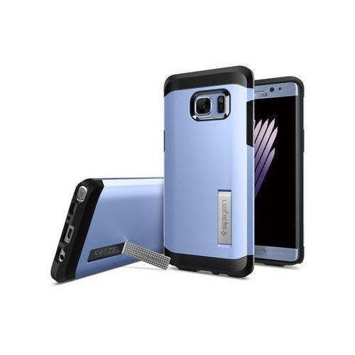 Etui Spigen Tough Armor Samsung Galaxy Note 7 Blue Coral - Niebieski, kolor Niebieski