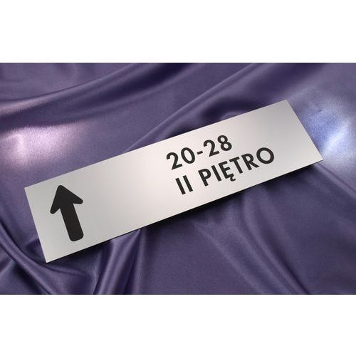 Szyldy prostokątne na drzwi - 29x8cm marki Grawernia.pl - grawerowanie i wycinanie laserem