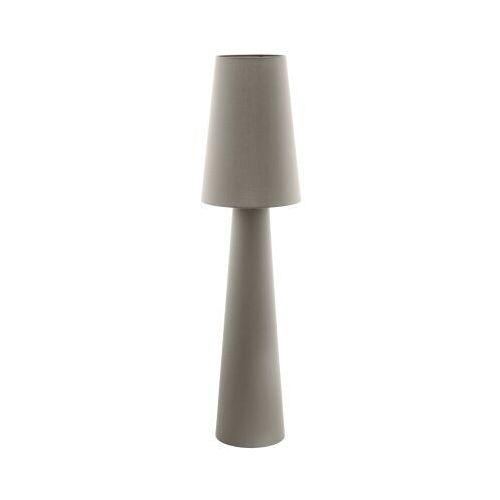 Lampa carpara 97141 podłogowa 2x60w e27 ciemnoszara h-1430mm marki Eglo