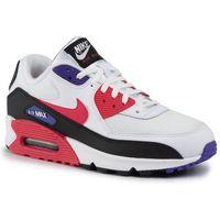 Buty - air max 90 essential aj1285 106 white/red orbit/psychic purple marki Nike