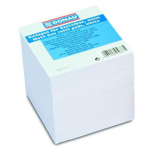 Kostka DONAU nieklejona, 90x90x90mm, ok. 700 kart., biała