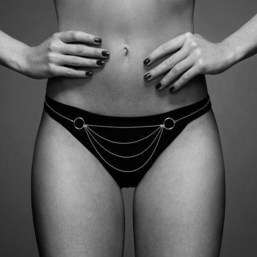 Bijoux Indiscrets - Magnifique Bikini Chain (srebrny)