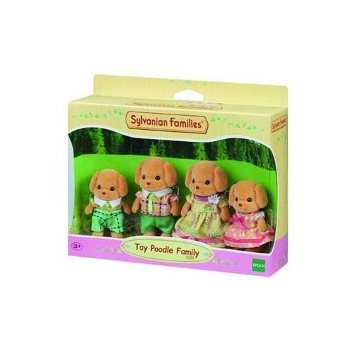 Sylvanian Families Toy Poodle Family / Dollhouse