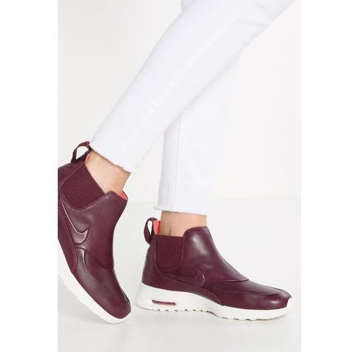 Nike Sportswear AIR MAX THEA Ankle boot night maroon/sail, ankle boots, czerwony