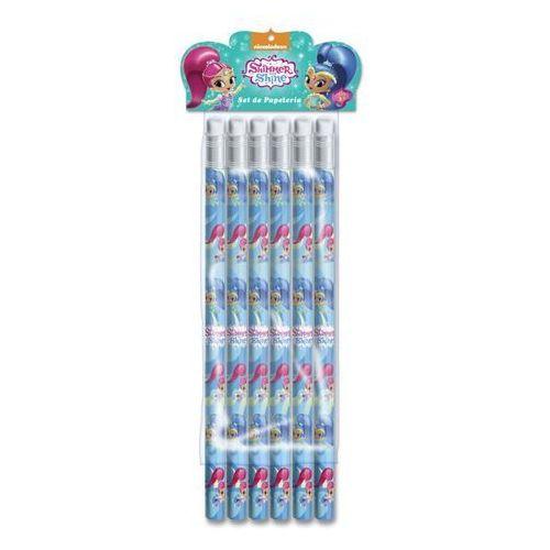 Zestaw ołówków - 6 szt. Shimmer i Shine (8426842056838)