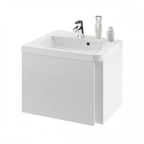 sd 10°(stopni) szafka narożna podumywalkowa, lewa 550 biała x000000739 marki Ravak