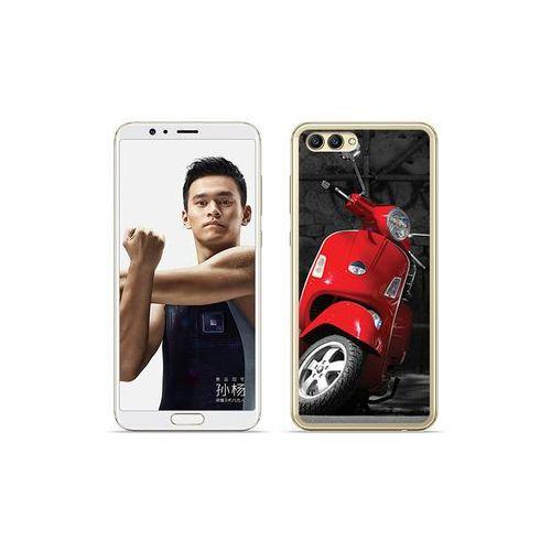 etuo Foto Case - Huawei Nova 2S - etui na telefon Foto Case - czerwony skuter, ETHW652FOTOFT033000