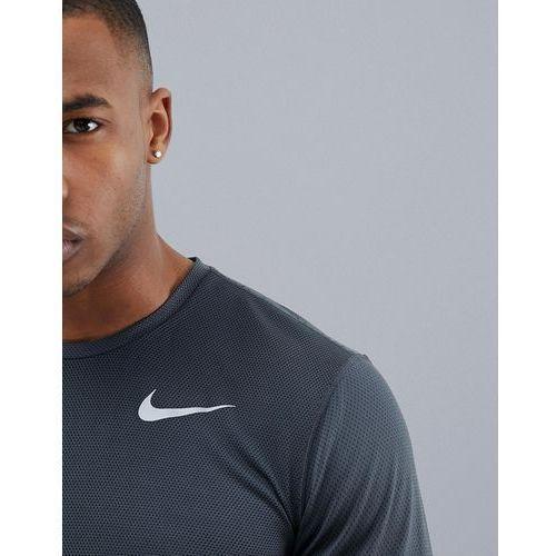 Nike running zonal cooling relay long sleeve t-shirt in grey 833585-060 - grey
