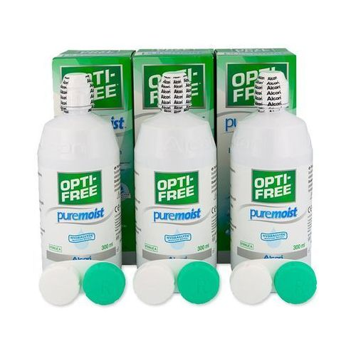 Płyn opti-free puremoist 3 x 300 ml marki Alcon