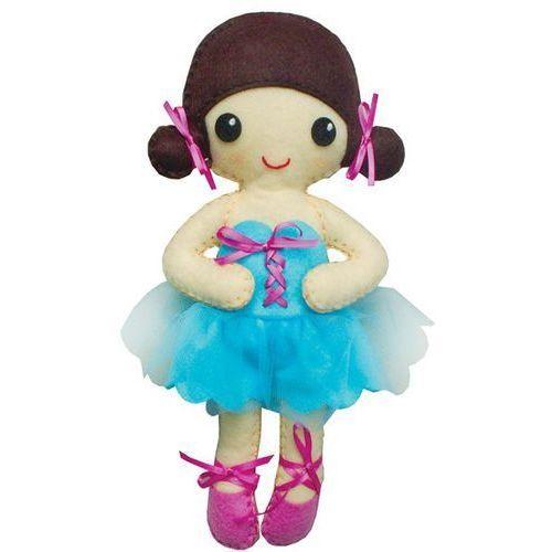 Stnux Filcowe robótki, niebieska lalka baletnica (5901583292354)
