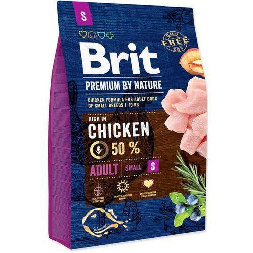 BRIT dog Premium By Nature ADULT S - 1kg, 1003562