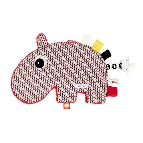 Done By Deer - Przytulanka dla niemowląt Hipopotam, kup u jednego z partnerów