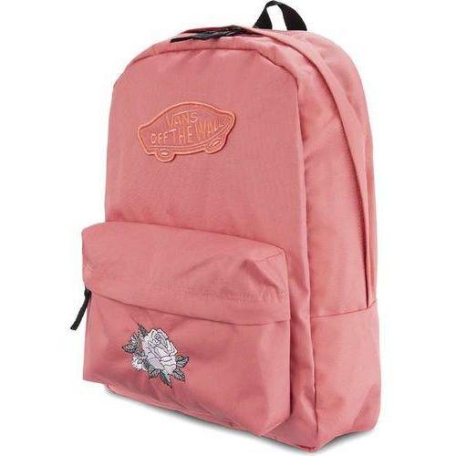 Plecak wm realm backpack desert white classic rose white classic rose marki Vans