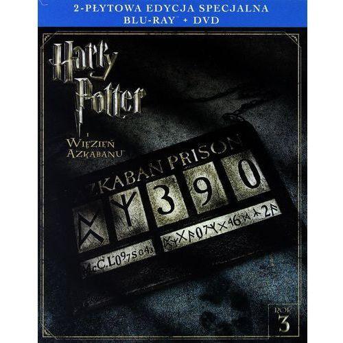 HARRY POTTER I WIĘZIEŃ AZKABANU. 2-PŁYTOWA EDYCJA SPECJALNA (1BD+1DVD) (Płyta BluRay) (7321996156971)