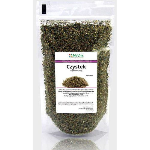 Czystek - krojony liść 200 g MyVita (ziołowa herbata)