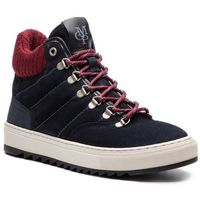Sneakersy - 808 24996101 100 navy/black 501, Marc o'polo, 40-45