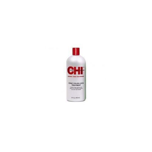 Chi ionic color lock, zakwaszająca odżywka zapewniająca długotrwały kolor, 946ml