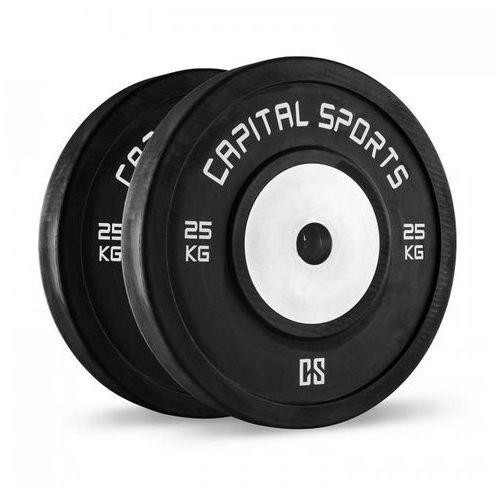 Capital sports Inval hi grade competition obciążniki 50 mm rdzeń aluminiowy 2 x 25 kg
