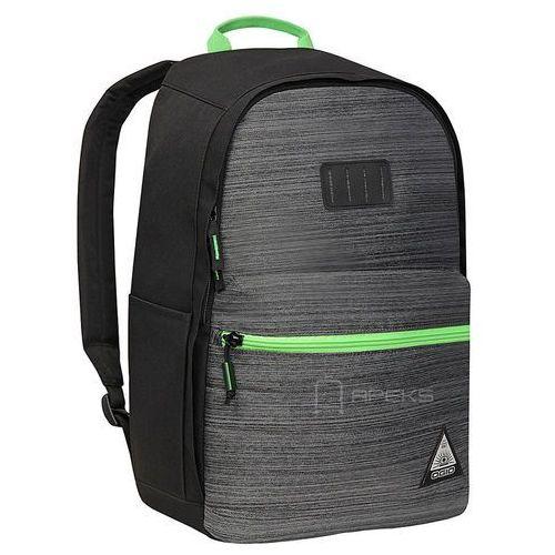 lewis plecak miejski na laptopa 15'' / szaro - zielony - noise marki Ogio