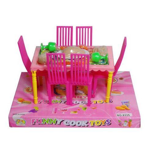Zabawka SWEDE Stół i krzesła 075874 (5902496075874)
