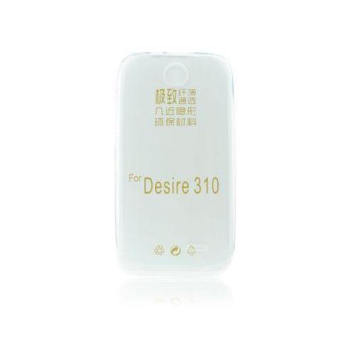 Back Case 0,3mm - HTC DESIRE 310 transparentny, backhtc310