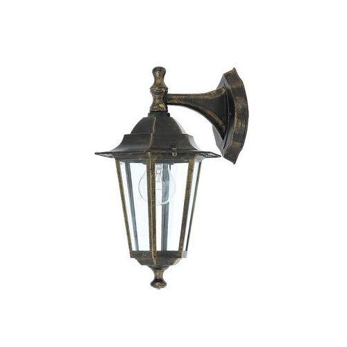 Rabalux Kinkiet lampa oprawa ścienna zewnętrzna velence 1x60w e27 czarny 8232 (5998250382326)