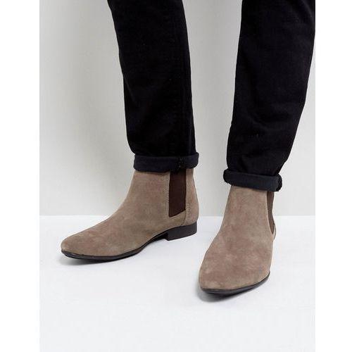 chelsea boots beige suede - beige, Frank wright