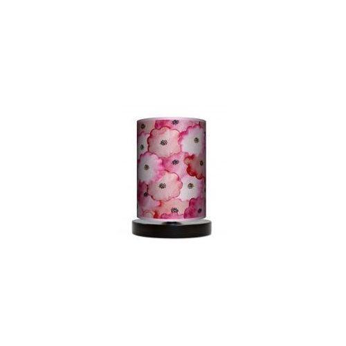Lampa stojąca mała - Wycinane kwiatki