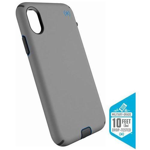 Speck presidio sport etui obudowa iphone x (gunmetal grey/cobalt/slate)