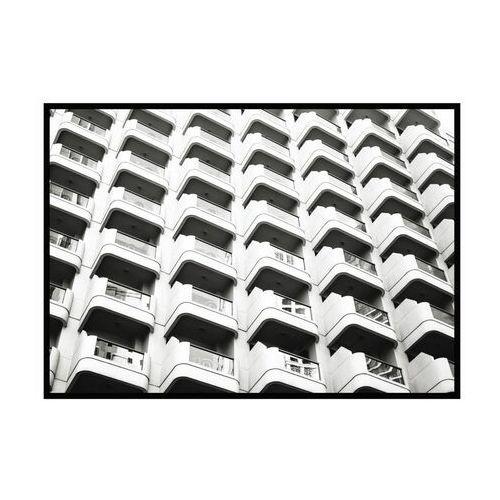 Obraz białe balkony 100 x 70 cm marki Knor