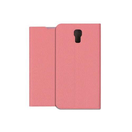 Etuo flex book Lg x screen - pokrowiec na telefon - różowy
