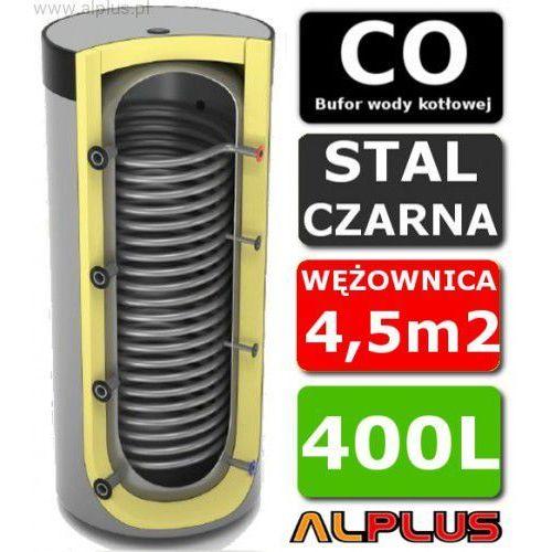 Lemet Bufor do pompy ciepła 400l z wężownicą maxi - zbiornik buforowy akumulacyjny, 170cm x 65cm, 400 litrów, wężownica 4,5m2, wysyłka gratis