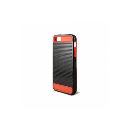 KSIX Etui EBOT TPU dedykowane do Apple iPhone SE/5S/5 - czarno-czerwone Odbiór osobisty w ponad 40 miastach lub kurier 24h - produkt z kategorii- Futerały i pokrowce do telefonów