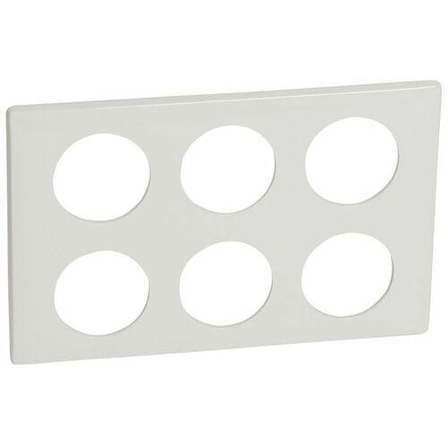Celiane ramka sześciokrotna (2x3moduły) biała 068609 marki Legrand polska sp. z o.o.