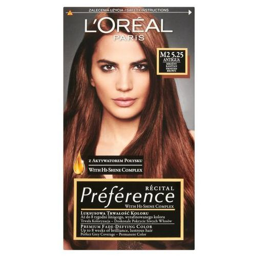 préférence farba do włosów odcień 5.25/m2 antigua marki L'oréal paris