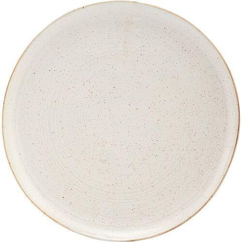 Talerz obiadowy pion szaro-biały