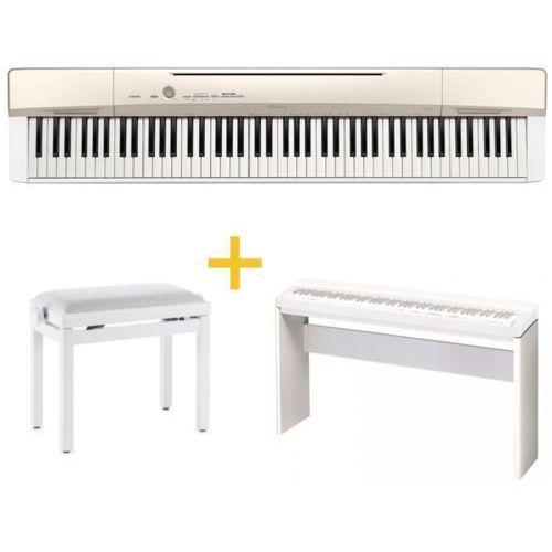 Casio PX-160 GD-PIANINO CYFROWE+ Stand + Ława + Instrukcja PL (fortepian, pianino)