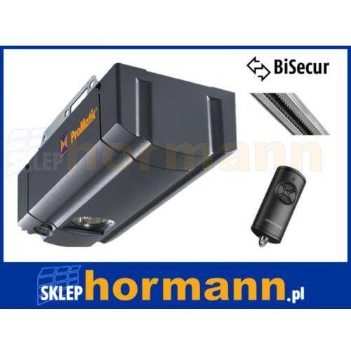 ZESTAW: napęd ProMatic seria 3 BiSecur (siła 750 N, do 11 m2) + szyna K+ pilot HSE 4 BS