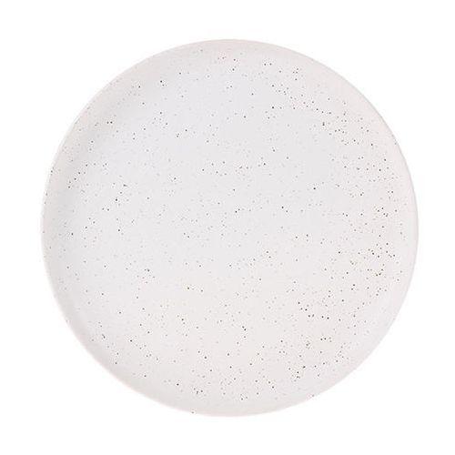 HK Living Talerz śniadaniowy ceramiczny w kolorze białym ACE6811