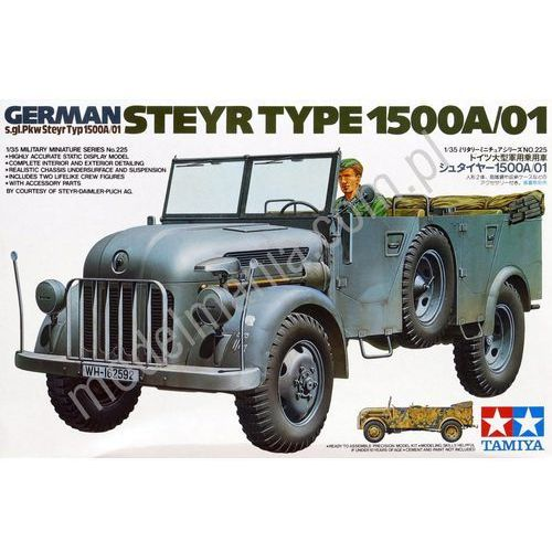 Tamiya german steyr 1500 a/01 - tamiya (4950344996407)