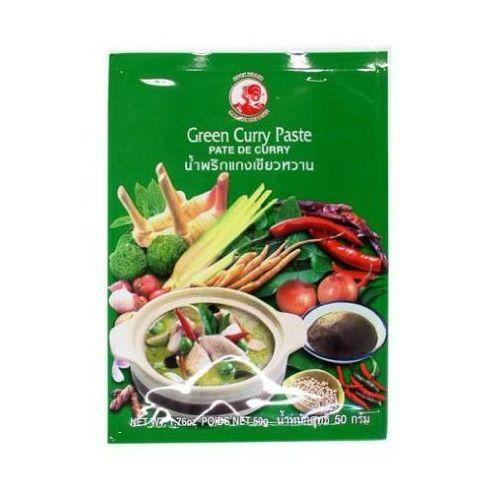 Pasta curry zielona 50g marki Cock brand